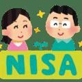 NISAのロゴと夫婦